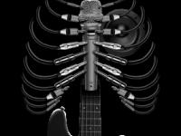 Гитара, микрофон