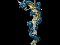 Дракон на мече