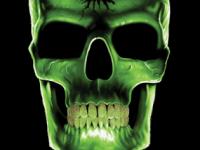 Зеленый череп