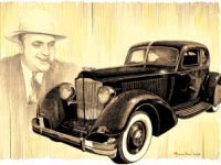 Аль Капоне и авто ретро